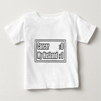 My Husband Beat Cancer (Scoreboard) Baby T-Shirt
