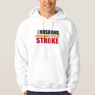 My Husband Conquered Stroke Hoody