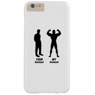 My Husband Funny Gift Bodybuilder Gym Barely There iPhone 6 Plus Case