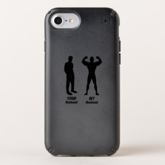 My Husband Funny Gift Bodybuilder Gym Speck iPhone Case