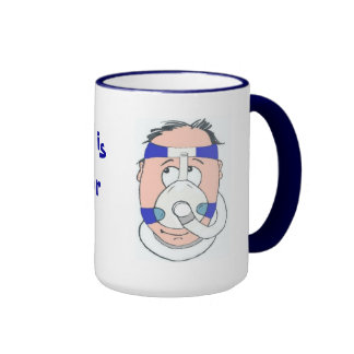 My Husband is a CPAP user Mugs