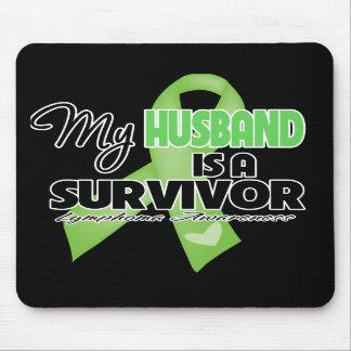 My Husband is a Survivor - Lymphoma Mouse Pad