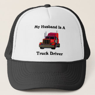 My Husband is a Truck Driver Hat