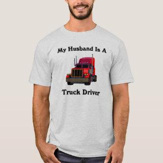 My Husband is a Truck Driver Mens T-Shirt