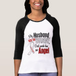 My Husband Is An Angel Lung Cancer Tees