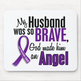 My Husband Is An Angel Pancreatic Cancer Mouse Pad