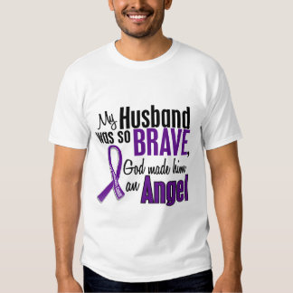 My Husband Is An Angel Pancreatic Cancer T Shirt