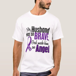 My Husband Is An Angel Pancreatic Cancer T-Shirt