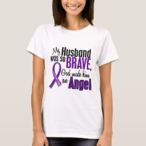 My Husband Is An Angel Pancreatic Cancer T-Shirt