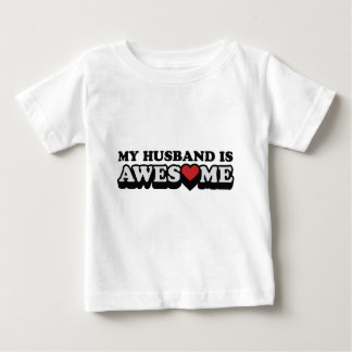 My Husband Is Awesome Valentines Day T-shirt