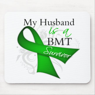 My Husband is Bone Marrow Transplant Survivor Mouse Pad