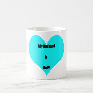 My Husband Is Hot Coffee Mug