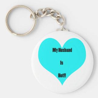 My Husband Is Hot! Keychain