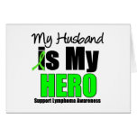 My Husband is My Hero Greeting Card