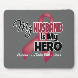 My Husband is My Hero - Multiple Myeloma Mouse Pad