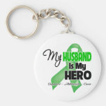 My Husband is My Hero - SCT BMT Keychain
