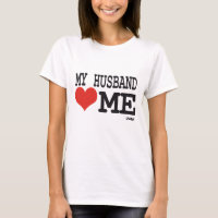 My husband loves me T-Shirt