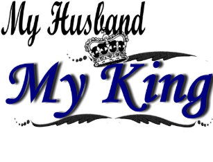 My Husband Is A King Gifts On Zazzle