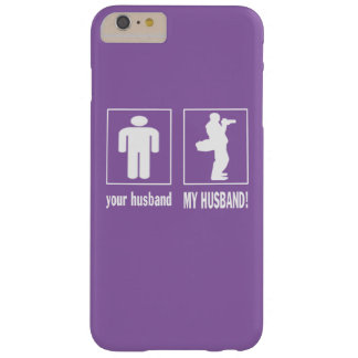 MY HUSBAND - PHOTOGRAPHER BARELY THERE iPhone 6 PLUS CASE