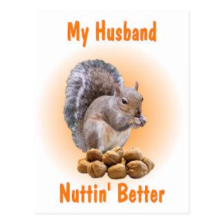 My Husband Postcard