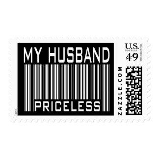 My Husband Priceless Postage Stamp