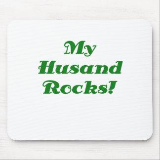 My Husband Rocks Mouse Pad