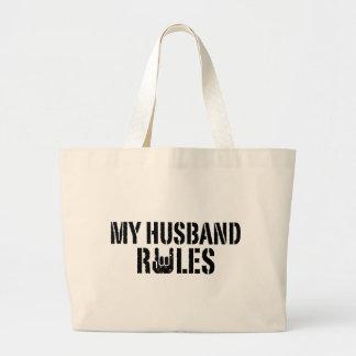 My Husband Rules Tote Bag