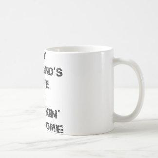 My Husband's Wife Is Freakin' Awesome Coffee Mug