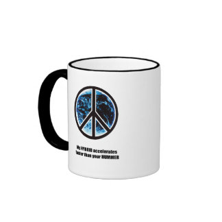 My hybrid accelerates faster ringer coffee mug