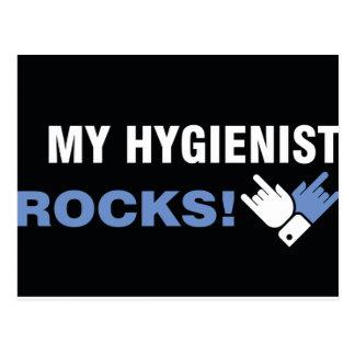My Hygienist Rocks Postcard
