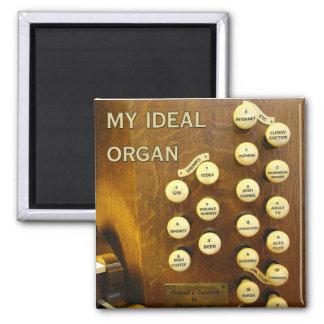 My ideal organ fridge magnet