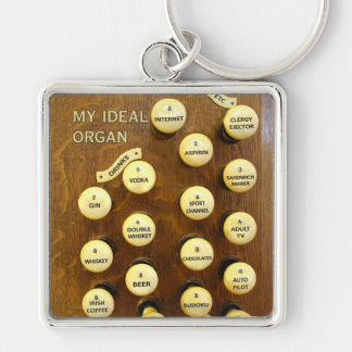 My ideal organ square key chain
