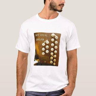 My ideal organ Tee shirt