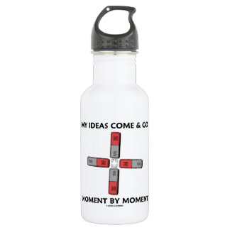 My Ideas Come And Go Moment By Moment Four Magnets 18oz Water Bottle