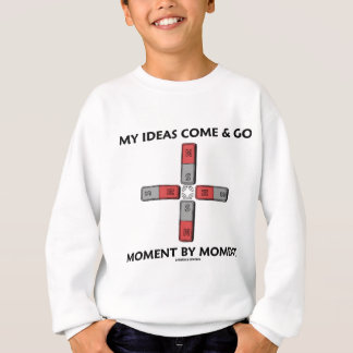 My Ideas Come And Go Moment By Moment Sweatshirt