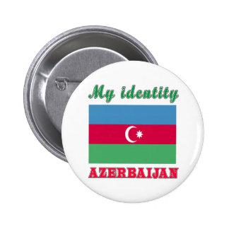 My Identity Azerbaijan 2 Inch Round Button