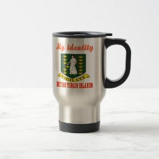 My Identity British Virgin Islands 15 Oz Stainless Steel Travel Mug