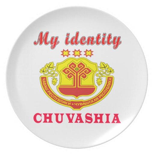 My Identity Chuvashia Party Plates