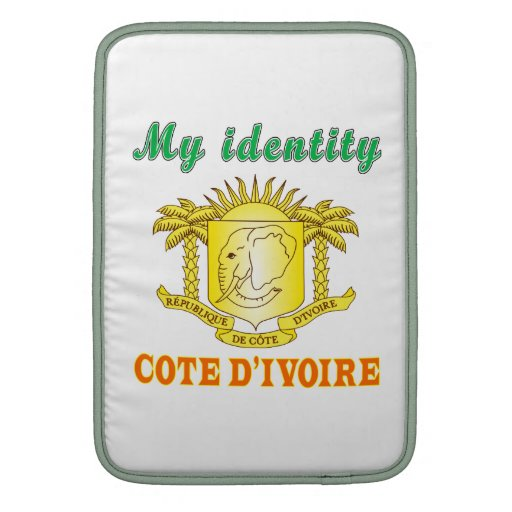 My Identity Cote d'ivoire Sleeves For MacBook Air