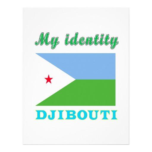 My Identity Djibouti Personalized Letterhead