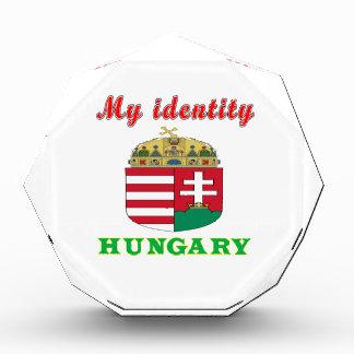 My Identity Hungary Acrylic Award