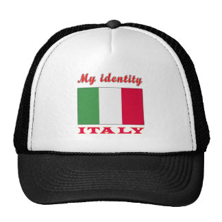 My Identity Italy Trucker Hat