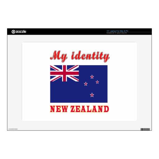 "My Identity New Zealand 15"" Laptop Decal"