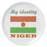 My Identity Niger Dinner Plate