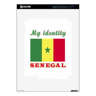 My Identity Senegal iPad 3 Decal