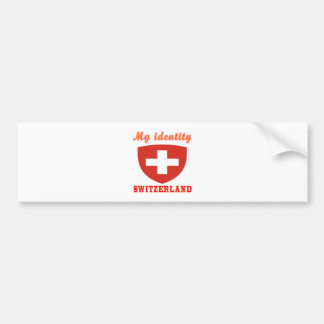 My Identity Switzerland Bumper Sticker
