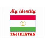 My Identity Tajikistan Post Cards