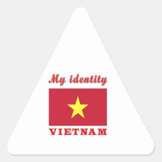 My Identity Vietnam Triangle Sticker