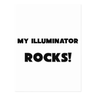 MY Illuminator ROCKS Postcard