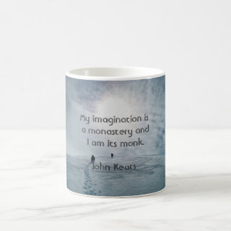 My Imagination - Coffee mug - Keats quote